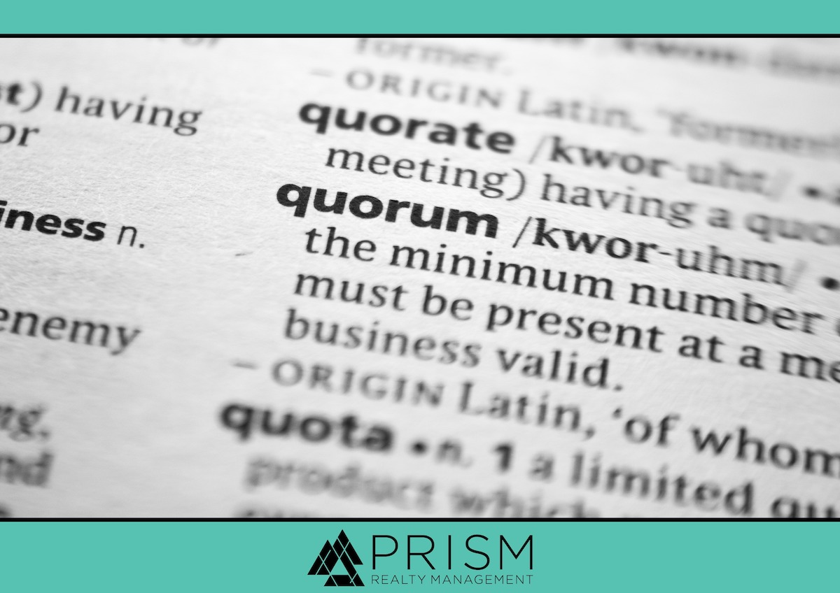 Prism Realty Management - Terms Every HOA Board Member and Resident Should Know - Best Austin Association Manager - Best Austin Property Manager - Austin HOAs - Austin Association Management