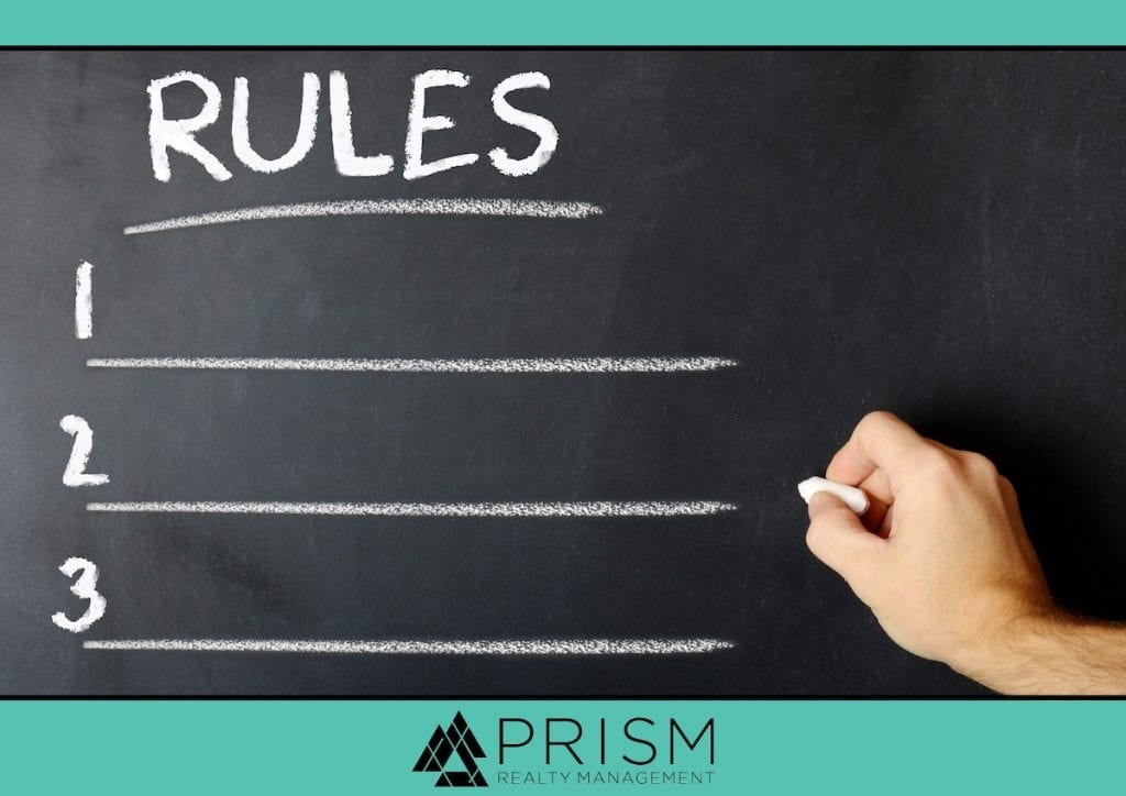 Prism Realty Management - Enforceable and Unenforceable HOA Rules - HOA Rules Texas - Unenforceable HOA Rules and Regulations - Texas HOA Rules